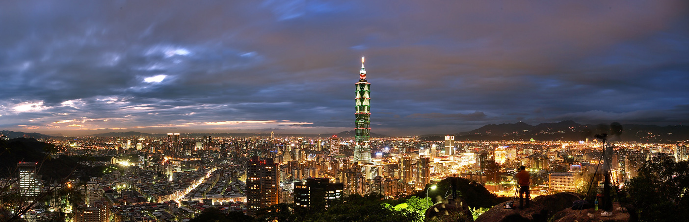 Taiwan_Taipei_night view